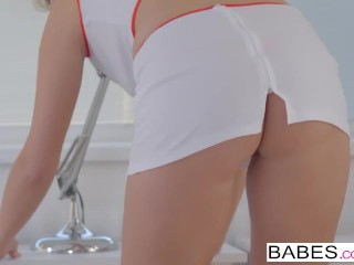 Fancy rectal - nasty nurse Nikky intent takes it in her booty porntube