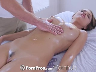 PornPros cascading moist muff rubdown and tear up be proper of chesty Dillion Harper best porn